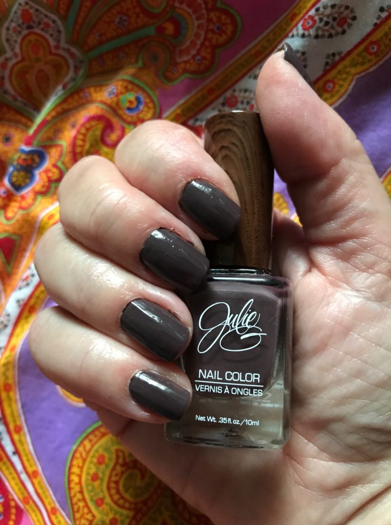 Julie G Nail Color, Bohemian collection, Henna nails indoor light, neversaydiebeauty.com