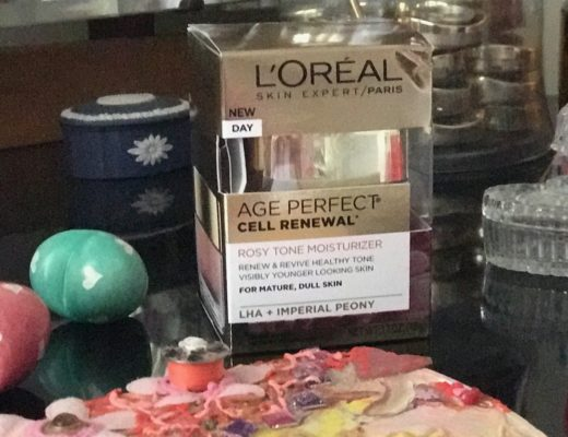 L'Oreal Age Perfect Cell Renewal Rosy Tone Moisturizer, outer packaging, neversaydiebeauty.com
