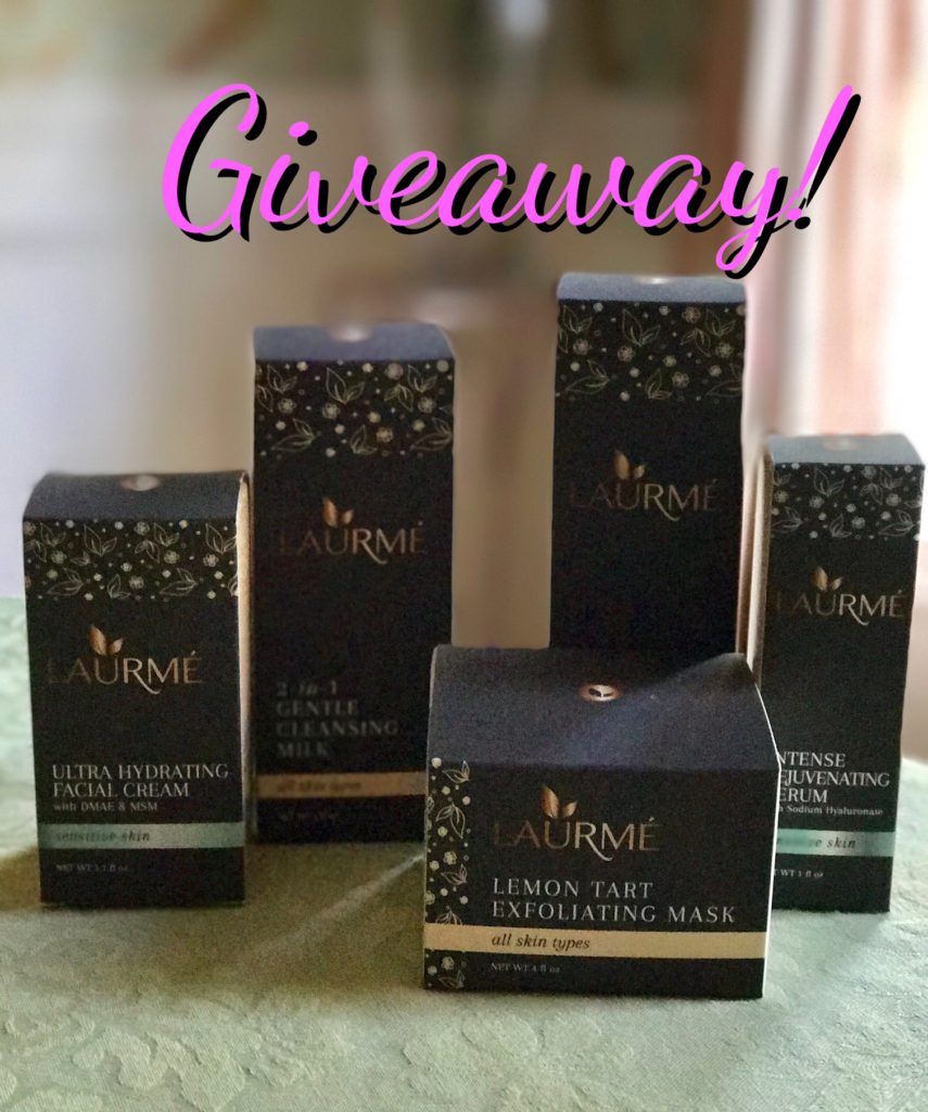 Laurme Sensitive Skin Collection giveaway, neversaydiebeauty.com