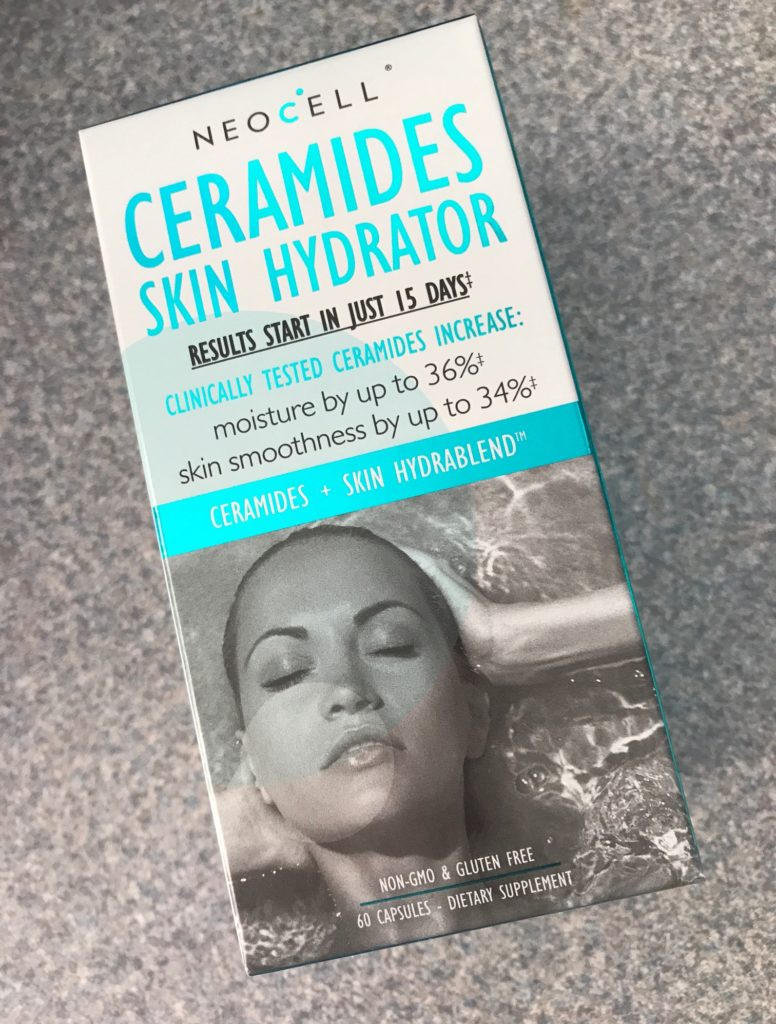 NeoCell Ceramides Skin Hydrator outer packaging, neversaydiebeauty.com