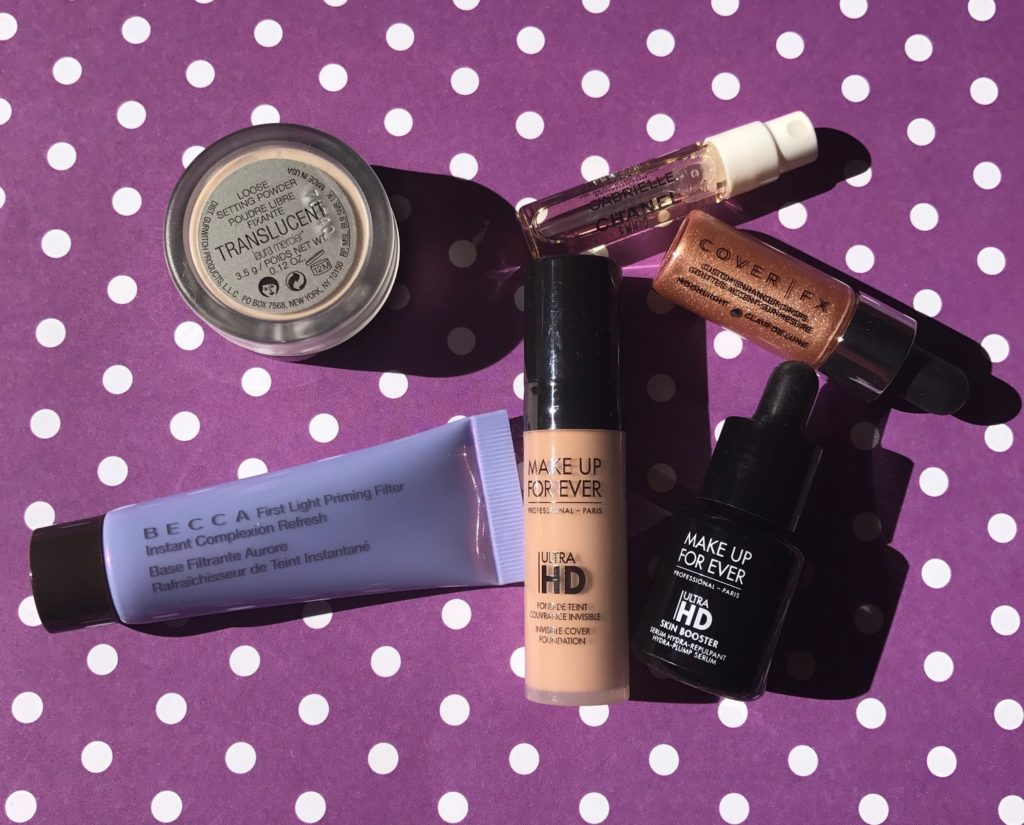 makeup from my Sephora Play Complexion Companions bag for October 2017, neversaydiebeauty.com