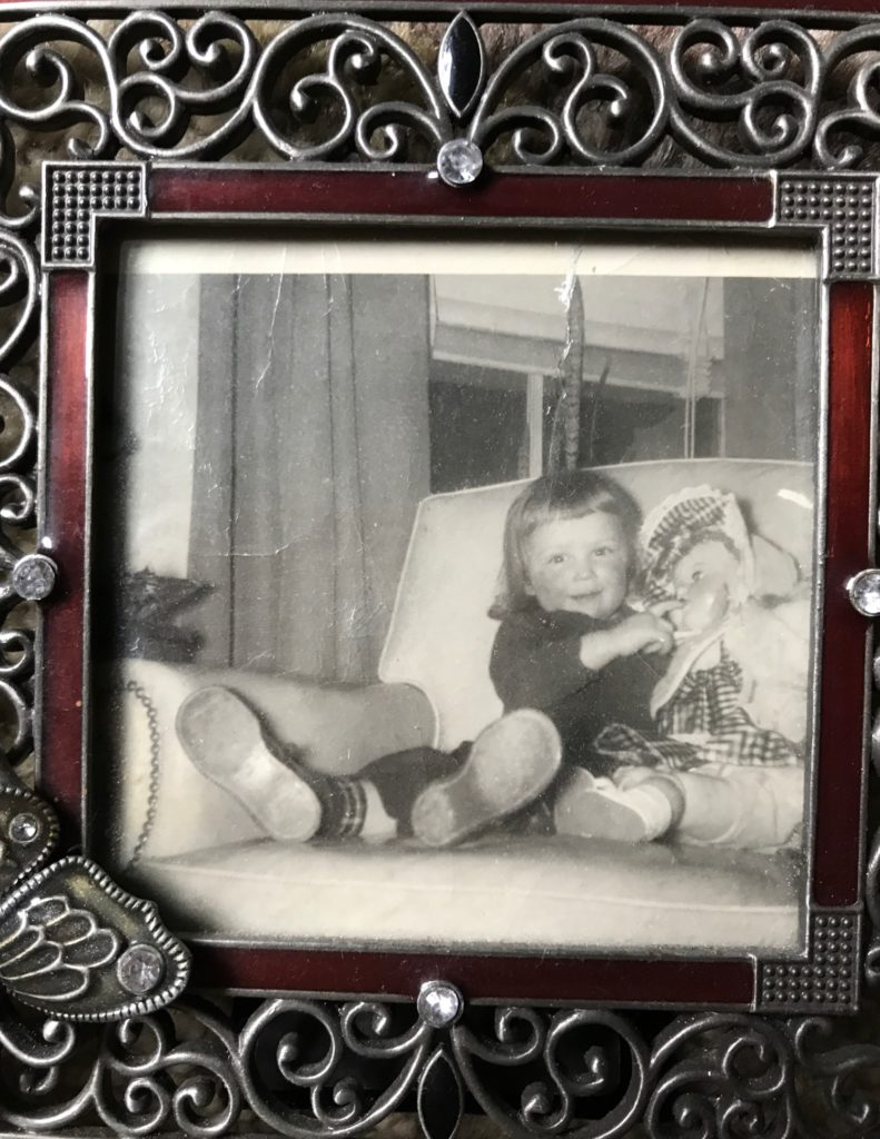 me at age 2, neversaydiebeauty.com