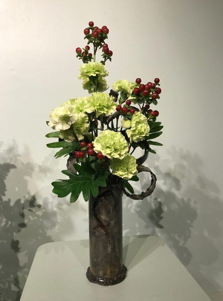 slim floral arrangement Topsfield Fair 2017