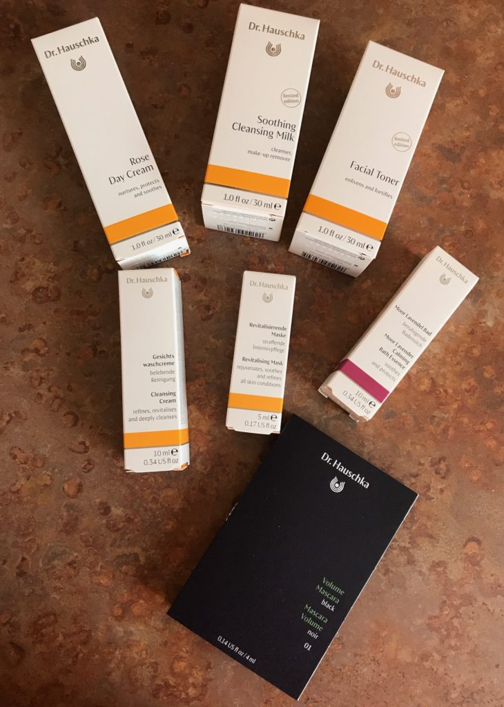 Dr. Hauschka skincare and makeup products, neversaydiebeauty.com