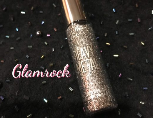 Urban Decay Heavy Metal Glitter Liner tube, silver shade Glamrock, neversaydiebeauty.com