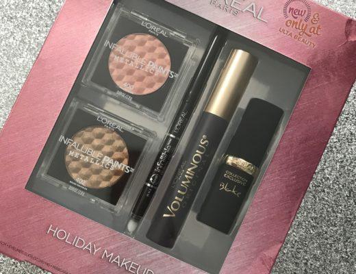 L'Oreal Holiday Makeup Kit, neversaydiebeauty.com