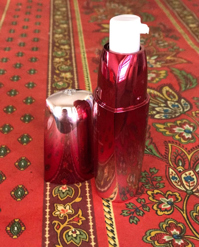 Shiseido Ultimune Power Infusing Eye Concentrate pump bottle, neversaydiebeauty.com