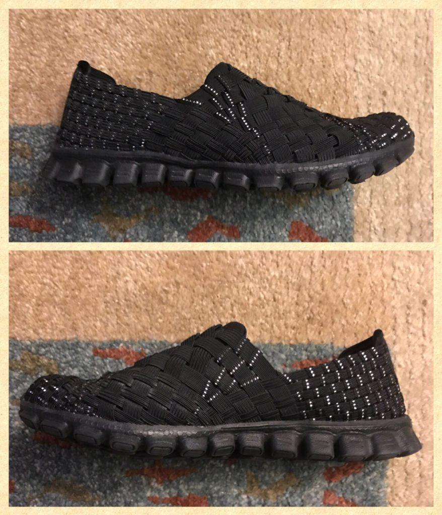 "Skechers EZ Flex2 ""Tada"" fashion sneakers, side view, neversaydiebeauty.com"