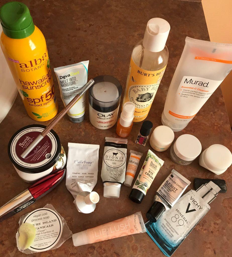 empty cosmetics October 2017, neversaydiebeauty.com