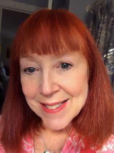 me wearing Rimmel Moisture Renew Lipstick in Coral Garden, neversaydiebeauty.com