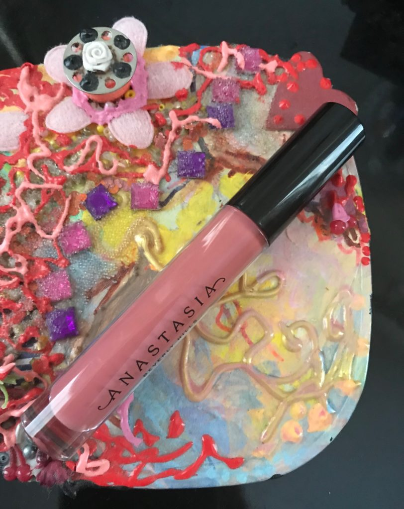 Anastasia Beverly Hills Lip Gloss tube in Caramel, neversaydiebeauty.com