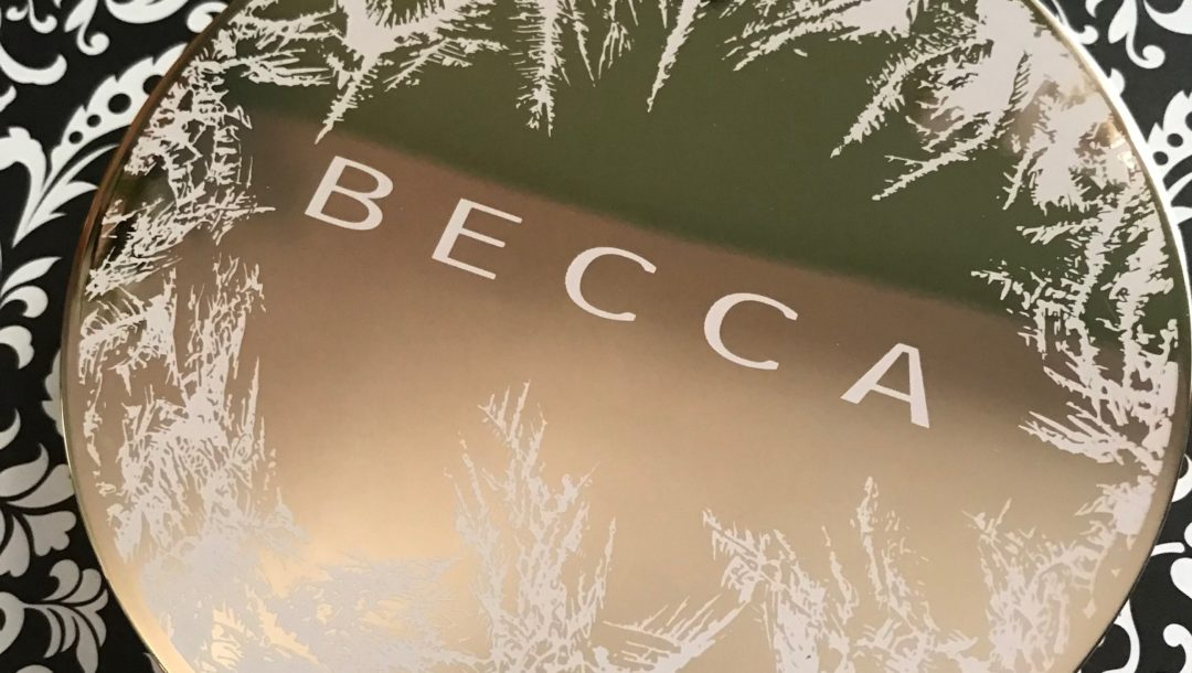 BECCA Apres Ski Eye Lights round shadow palette, closed with ice etched on top, neversaydiebeauty.com