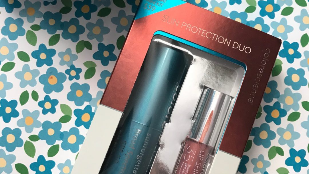 Colorescience Sun Protection Duo Holiday Kit, neversaydiebeauty.com