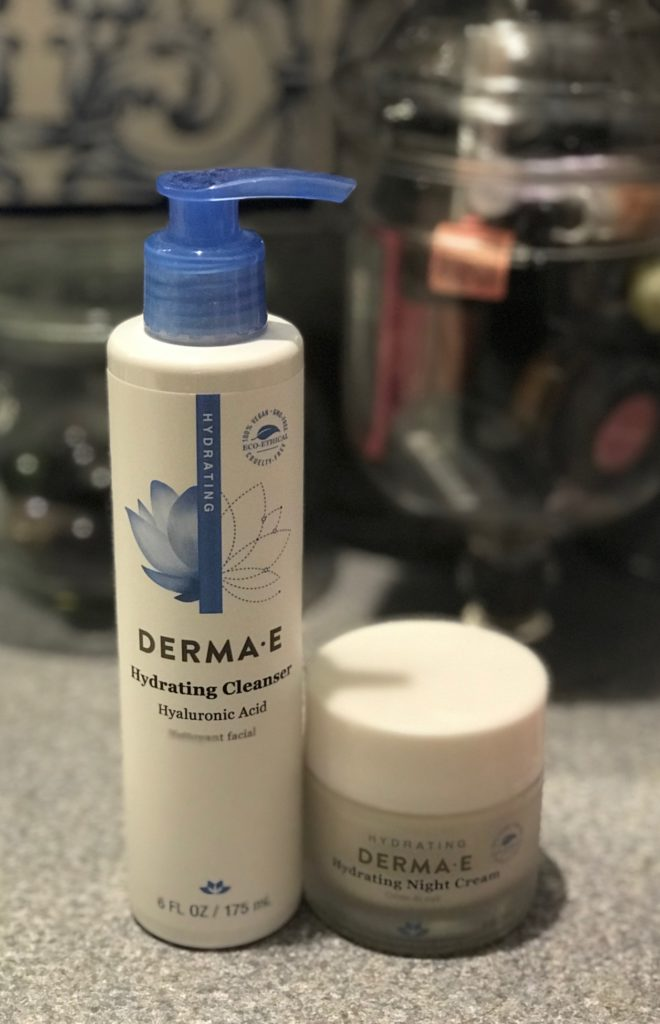 Derma E Hydrating Cleanser and Night Cream, neversaydiebeauty.com