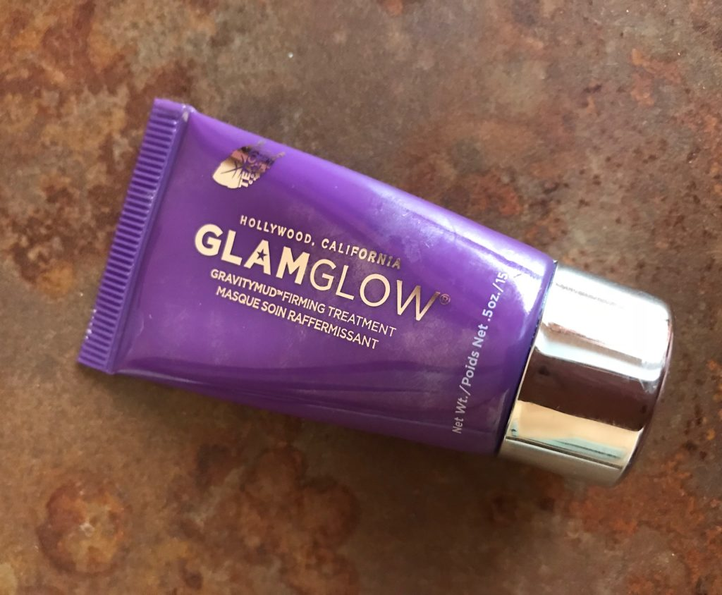GlamGlow GravityMud Firming Treatment, travel size tube, neversaydiebeauty.com