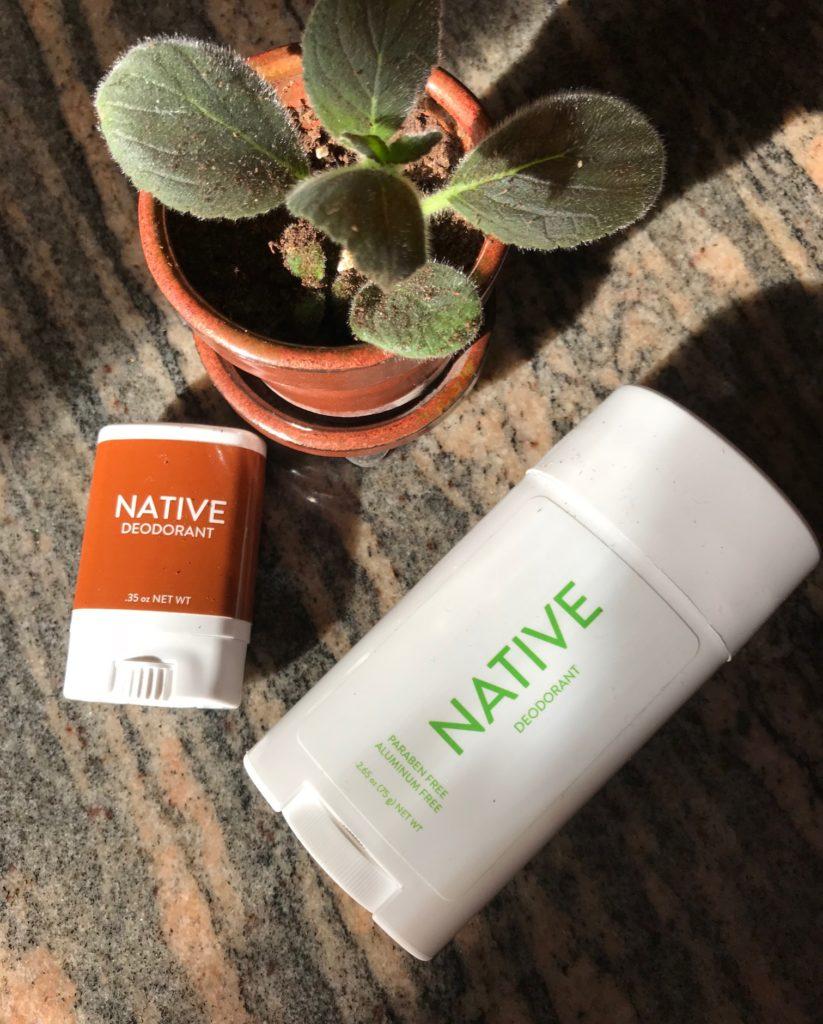 Native Deodorant Travel Size
