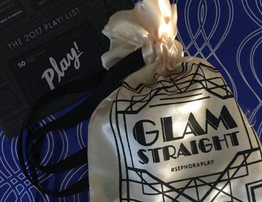 Sephora Phay Glam Straight bag for December 2017, neversaydiebeauty.com
