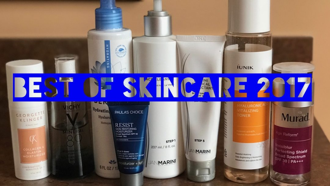 My Best of Facial Skincare for 2017, neversaydiebeauty.com