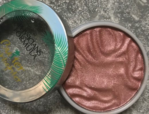open container of Physicians Formula Butter Highlighter, shade Pink, neversaydiebeauty.com