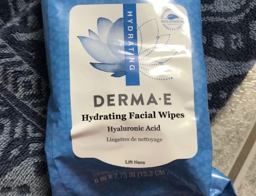Derma E Hydrating Facial Wipes with hyaluronic acid, neversaydiebeauty.com