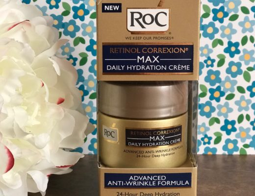 RoC Retinol Correction Max Daily Hydration Creme in its outer box, neversaydiebeauty.com