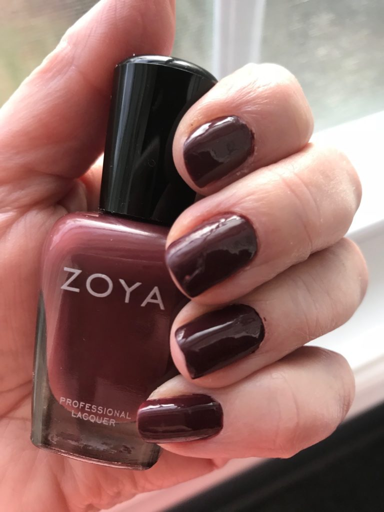 Zoya Mona Nail Polish: Another Vampy Burgundy Shade – Never Say Die ...
