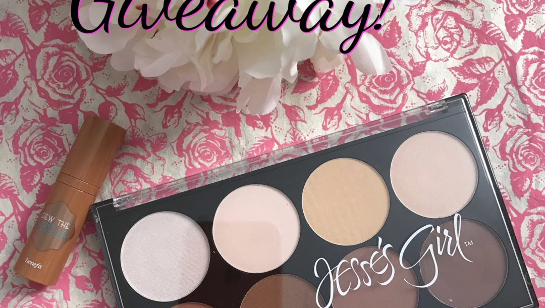 giveaway: Jesse's Girl Highlight & Contour Kit and Benefit Bronzer sample, neversaydiebeauty.com