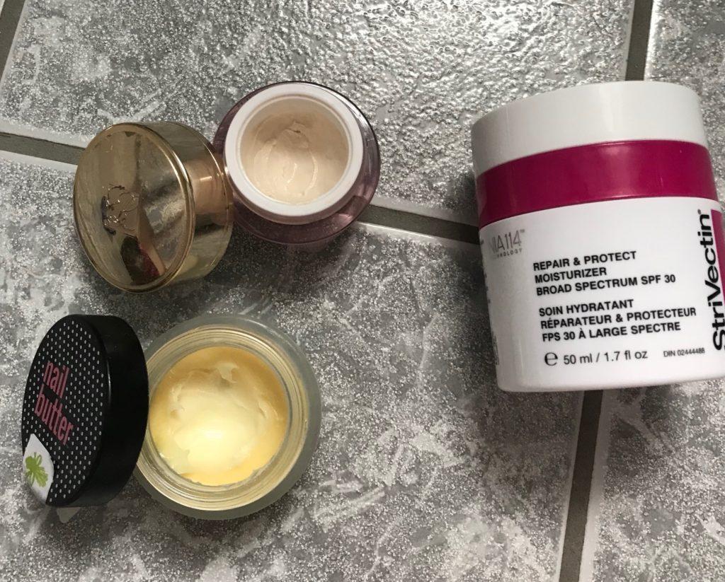 open unfinished beauty products, January 2018, neversaydiebeauty.com