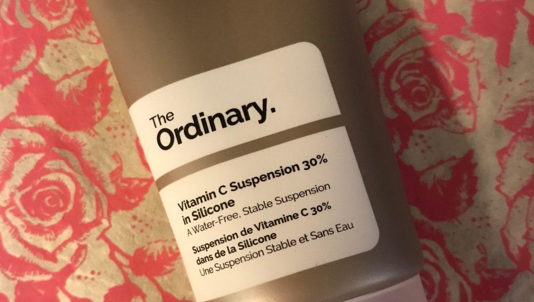 The Ordinary Vitamin C Suspension 30% in Silicone tube, neversaydiebeauty.com