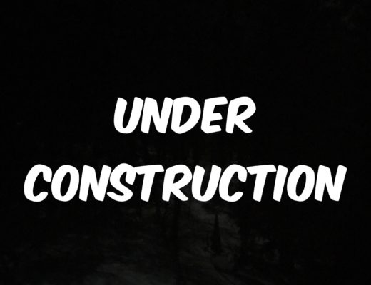 under construction sign, neversaydiebeauty.com
