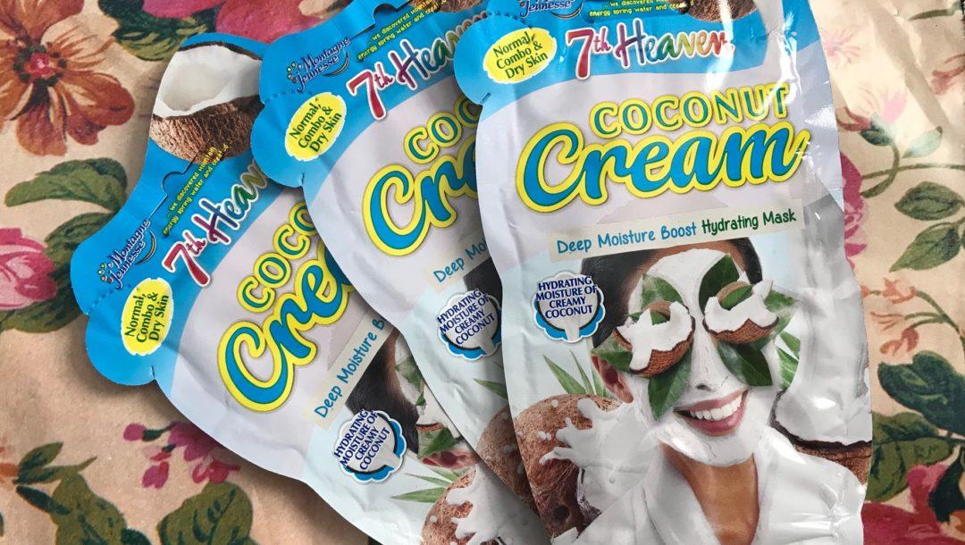 Montagne Jeunesse 7th Heaven Coconut Cream Hydrating Masks, neversaydiebeauty.com