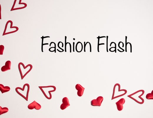 Fashion Flash with red hearts for Valentine's, neversaydiebeauty.com