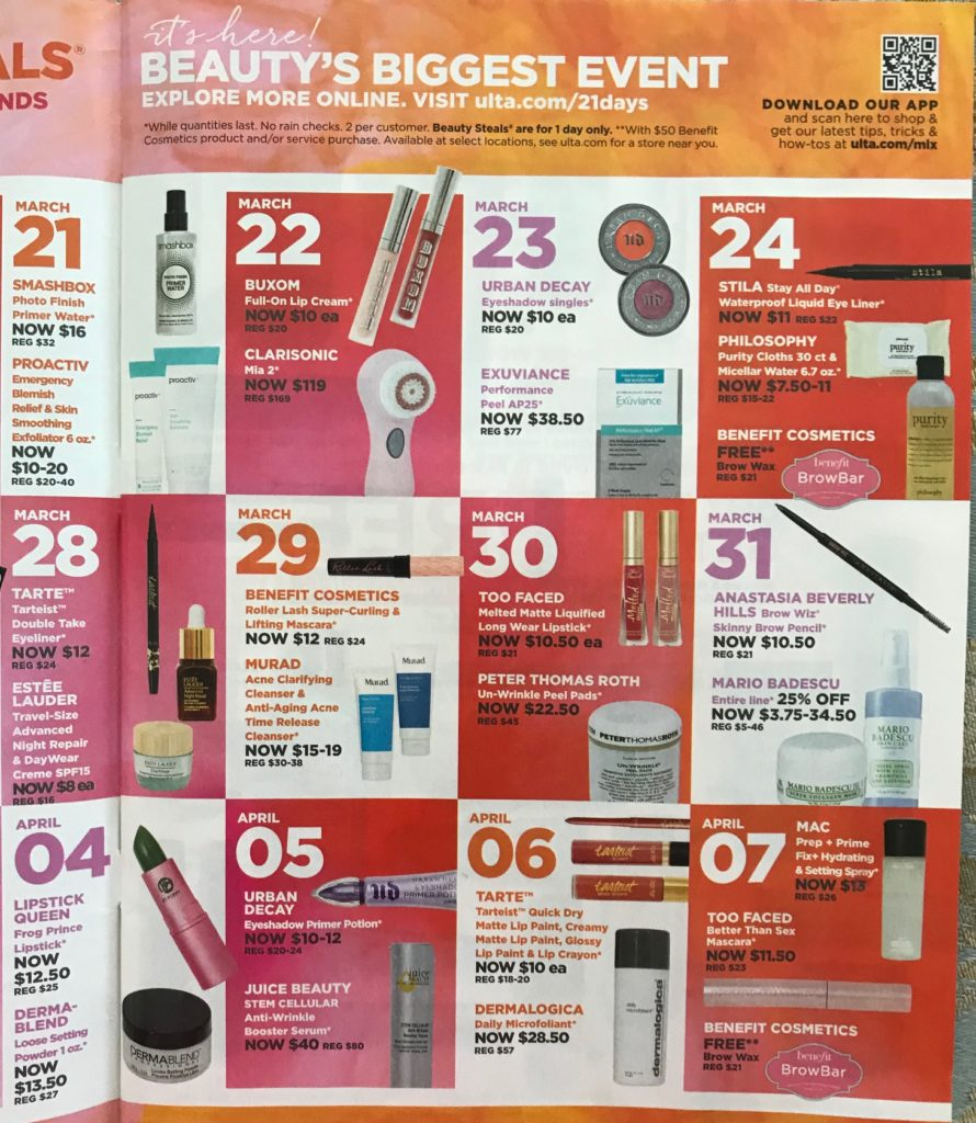 Spring 2018 Ulta 21 Days of Beauty – Never Say Die Beauty
